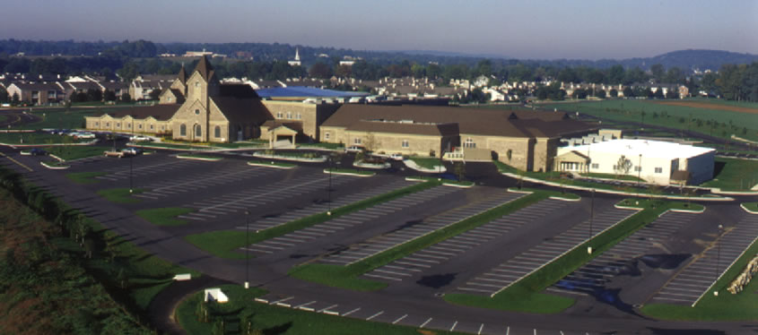 Calvary Church Aerial