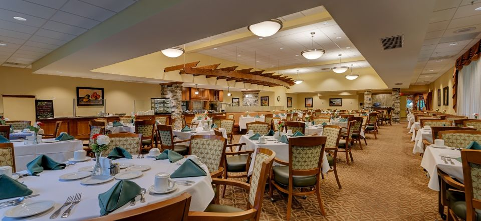 Award winning dining room at Presby's Inspired Life
