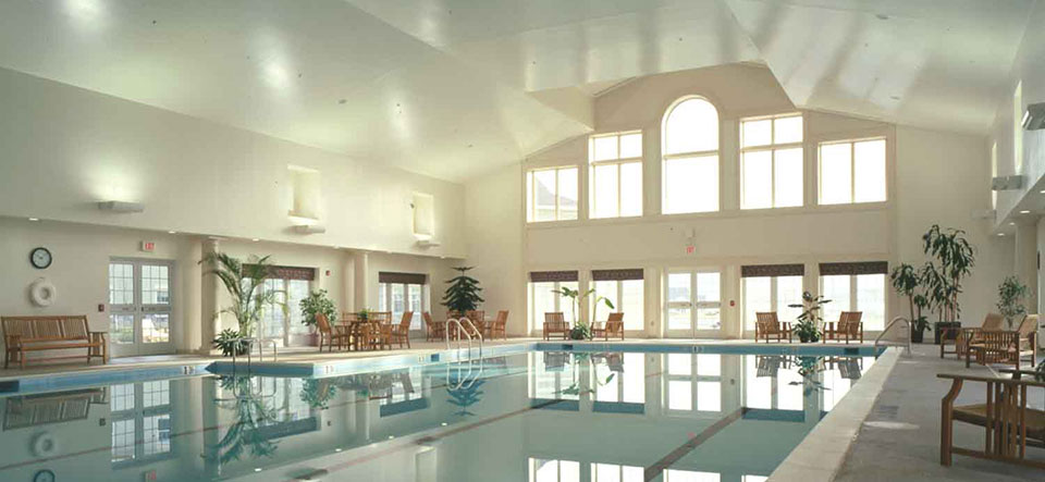 Swimming Pool at Senior Living Community