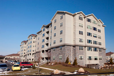 Retirement Village Apartments Exterior