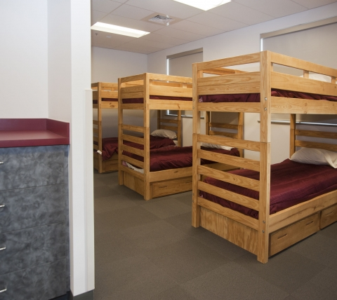 Silver Spring Fire Company Bunk Room