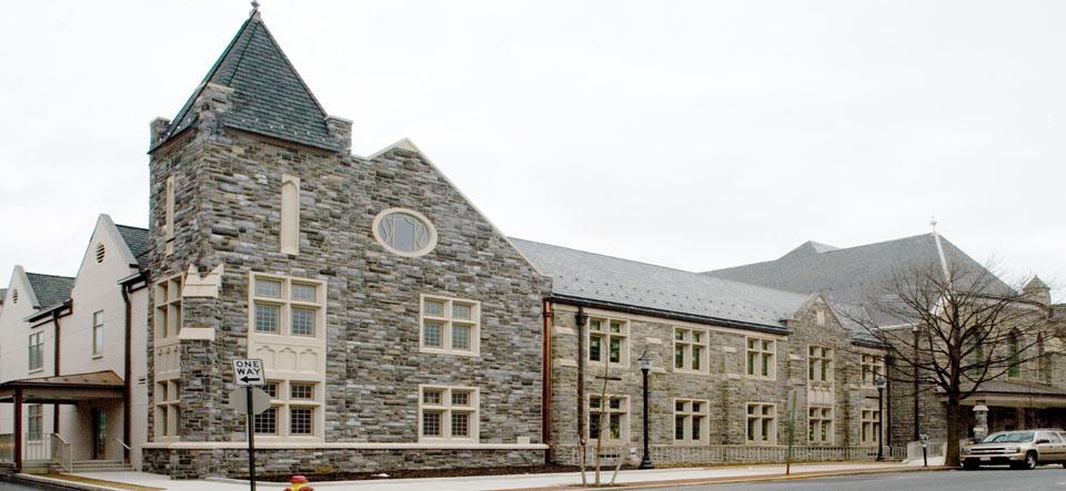 First United Methodist Church Lancaster Stone Exterior