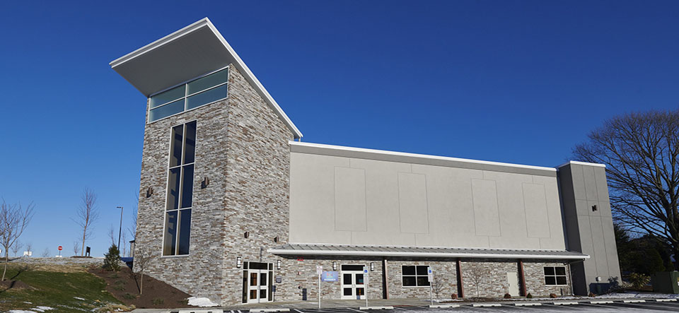Exterior of ValleyPoint Church