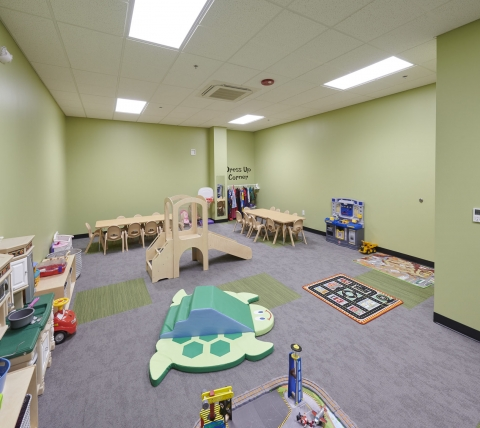Nursery at church