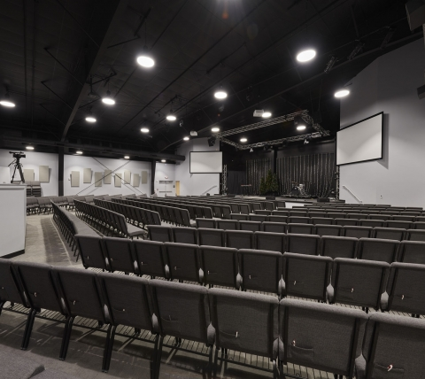 auditorium at ValleyPoint Church