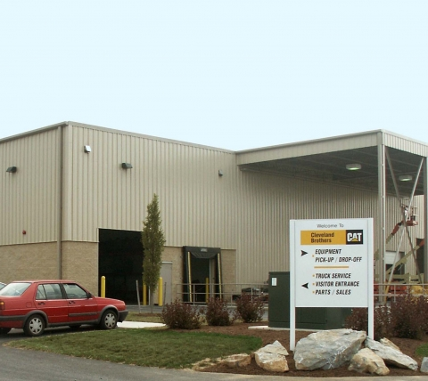 truck equipment dealership main entrance