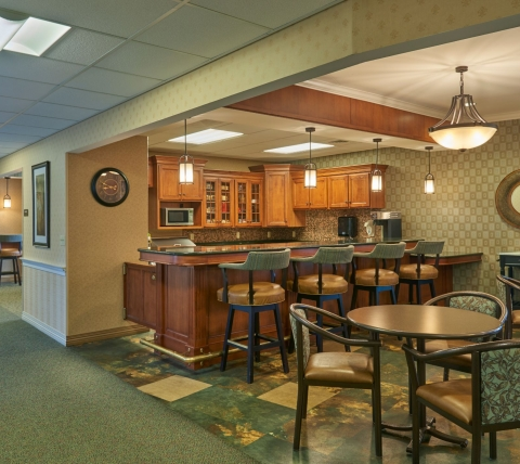 Bistro at a retirement community
