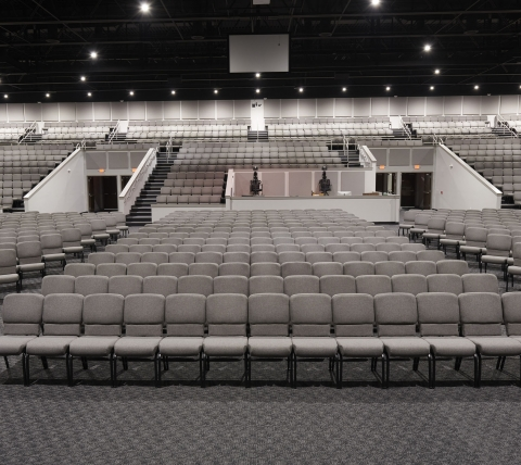 Auditorium seating for church