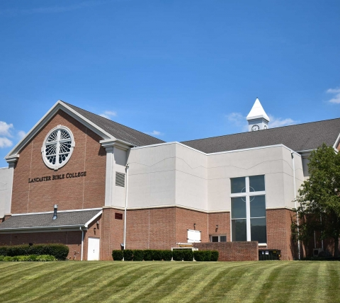 lancaster bible college chapel