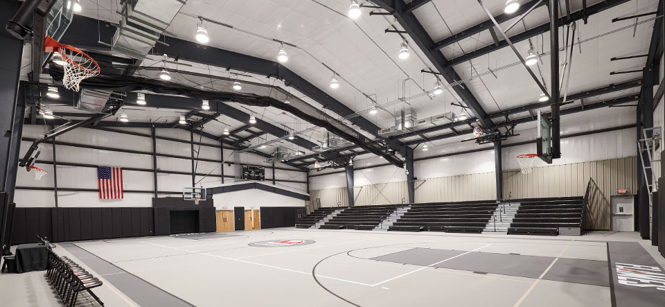 new covenant christian school student life center gym