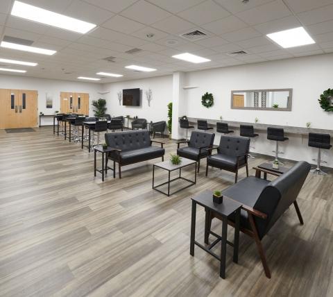 new covenant christian school student life center lobby